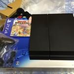 PS4買いました!開封から初期設定までの感想