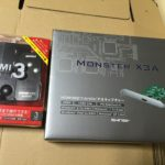 MonsterX3A 買いました。PS3とPS4を動作してみた